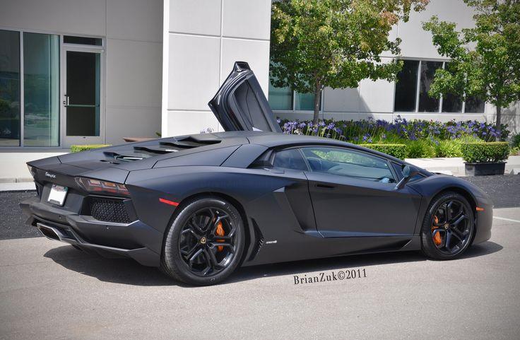 Lamborghini Aventador (Matte Black) | Neet. | Pinterest