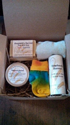 Natural Baby Gift Set--Large - Shepherd's Harvest