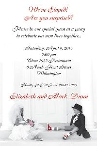 24b061485cb7f3a3b8decd50dfe60db8 elopement reception elopement party 11 best invitations images on pinterest,Reception Invitation Wording After Elopement