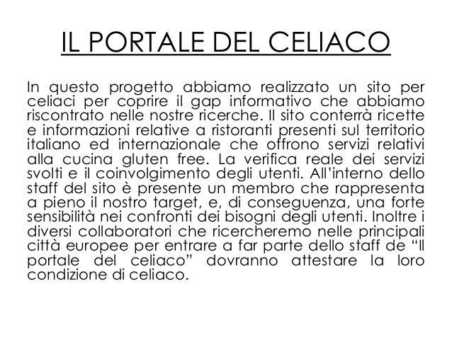celiaci ricette -