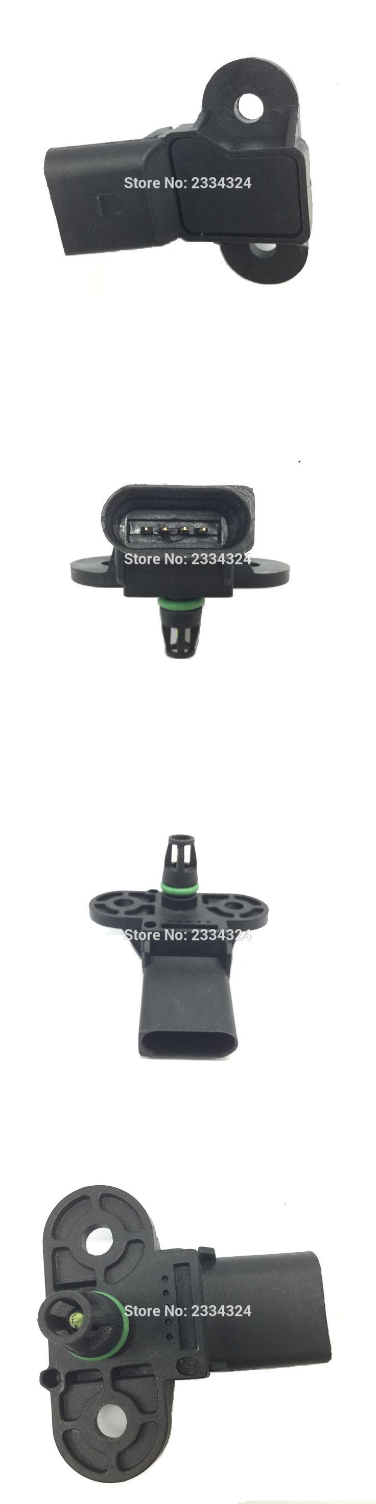 MAP Intake Air Pressure Sensor For AUDI A3 VW Beetle Bora Caddy Eos Golf Jetta Lupo Passat Polo Touran 1.2 1.4 1.6 2.0 06B906051