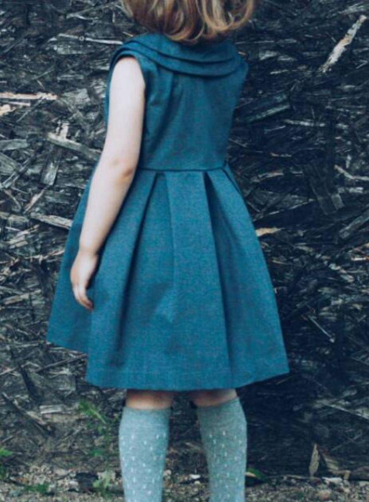 Sweet Handmade Denim Dress | Etsy                                                                                                                                                                                 More