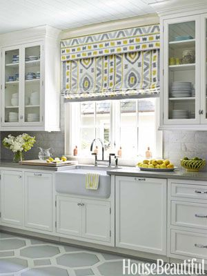 Light Grey And White Kitchen 33 best white kitchen cabinets gray tile floors images on