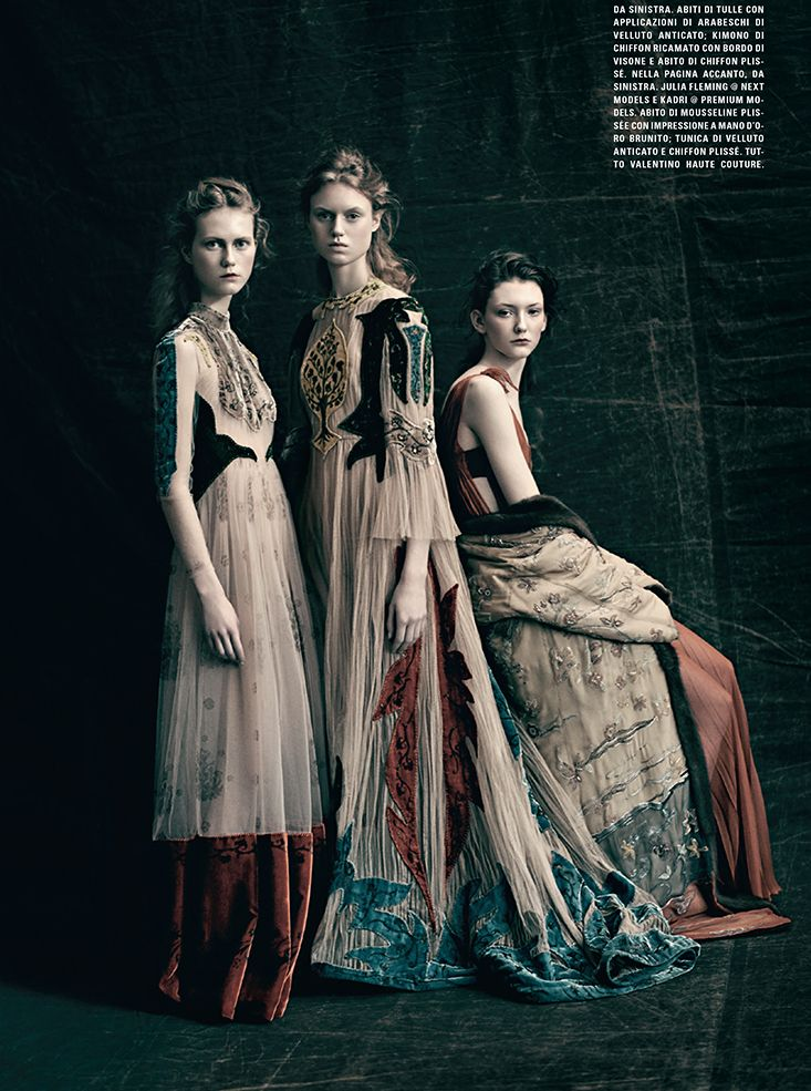 Paolo Roversi for Vogue Italia March 2016 Couture Supplement - Valentino