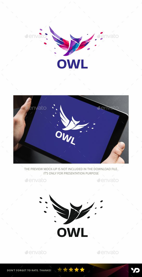 Owl — Vector EPS #voyage #community • Available here → https://graphicriver.net/item/owl/18823352?ref=pxcr