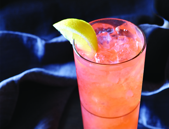 Applebee's Fireball Whisky Pink Lemonade.| - vodka - pink lemonade - fireball Had this yesterday, sooooo good