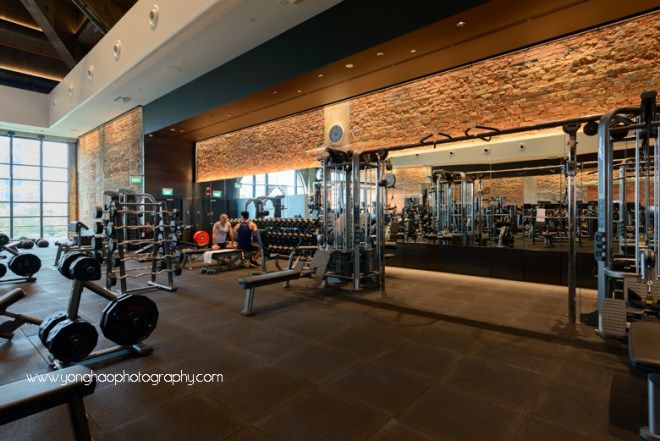 Interior Photography Of Pure Fitness At Ngee Ann City For Crown Construction With 360 Virtual Tour Gym Design Gym Design Interior Gym Decor