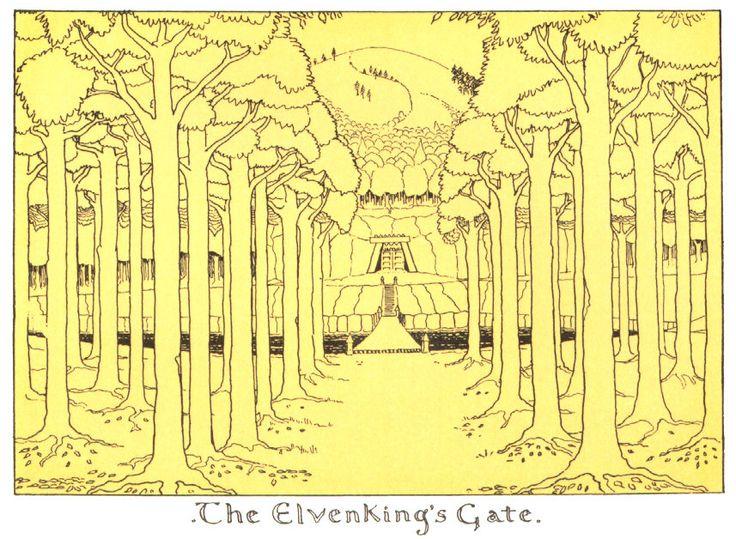 The Elven King's Gate - J.R.R. Tolkien