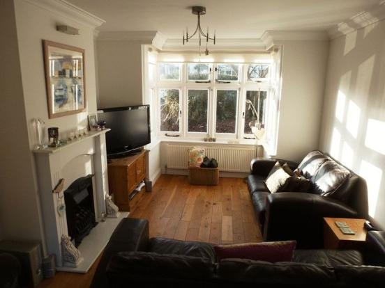 Wooden floor for the lounge - lovely