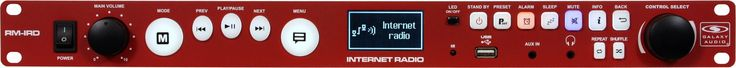 Galaxy Audio RM-IRD Rackmount Internet Radio Player