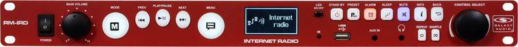 Galaxy Audio RM-IRD Rackmount Internet Radio Player