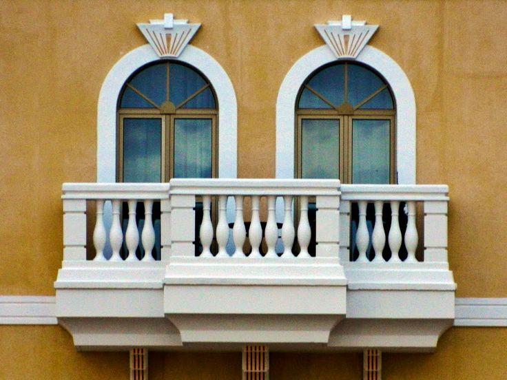 Village Trade balcony. Tuuri Finland.
