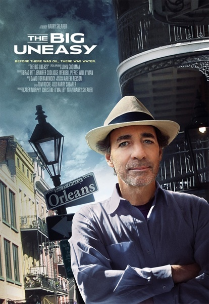 "Harry Shearer's ""The Big Uneasy"" which illustrates the FAILINGS of the U.S. Army Corp Of Engineers pre and post Hurricane Katrina"