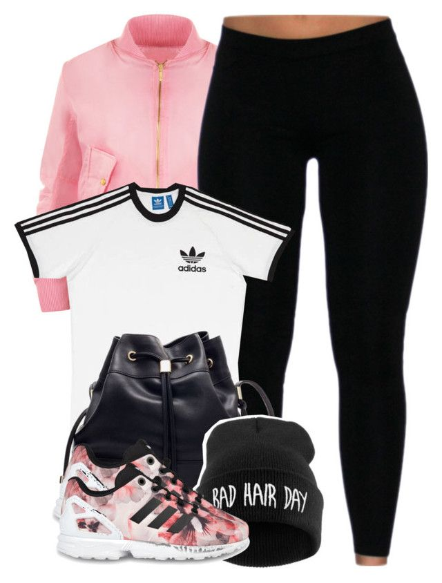 """Tell 'em niggxs go step they bricks up"" by cheerstostyle ❤ liked on Polyvore featuring WearAll, adidas, adidas Originals, women's clothing, women, female, woman, misses and juniors"
