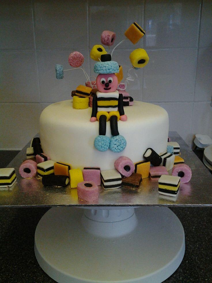 Bertie Bassett cake.
