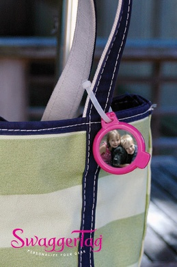 SwaggerTag Identification Tags. Personalize your tote bag. $5.99 http://swaggertag.com #travel