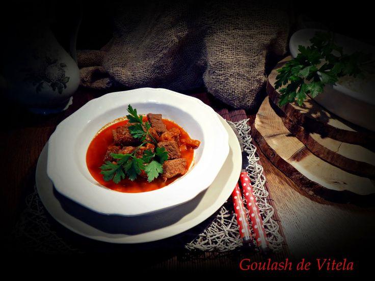 Goulash de Vitela | Cozinha Aromática