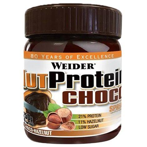NUTProtein Choco Spread es perfecto para todo tipo de dietas: Si su objetivo es aumentar la masa muscular y el volumen están en fase NUTProtein Choco Spread ayuda a proporcionar los aminoácidos esenciales a los músculos de una manera deliciosa. Y si estás a dieta y quiere mantener la línea, NUTProtein Choco Spread es un delicioso capricho rica en proteínas, baja en carbohidratos y azúcares.