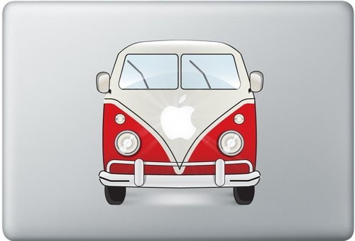 Shoply.com -Macbook volkswagen decal sticker. Only $9.90