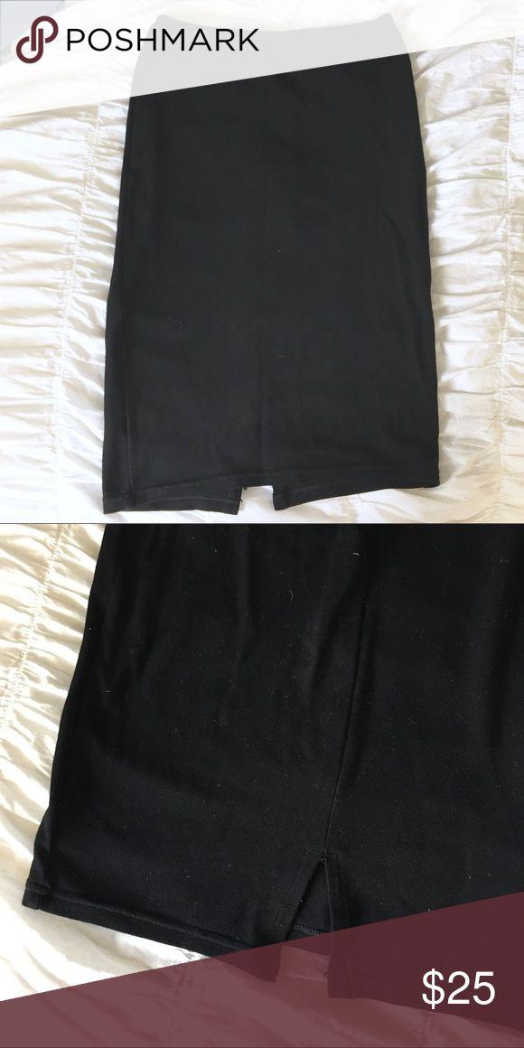 Selling this American Apparel tight black skirt on Poshmark! My username is: visionsofnyc. #shopmycloset #poshmark #fashion #shopping #style #forsale #American Apparel #Dresses & Skirts