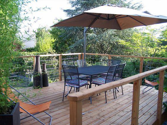 25 best ideas about terrasse bois sur pilotis on. Black Bedroom Furniture Sets. Home Design Ideas