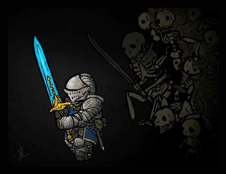 More Dark Souls art. Man I love that game.