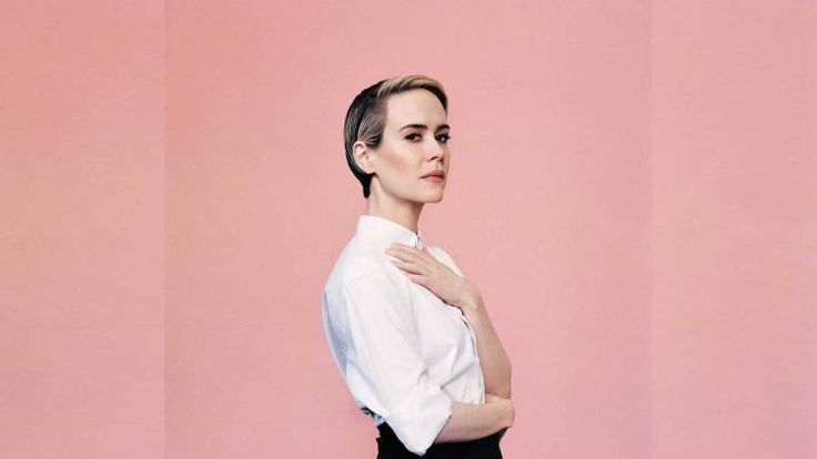 Many congrats Sarah Paulson on your spot in the #Time100. #SarahPaulson #LGBT  via @oneloveallequal