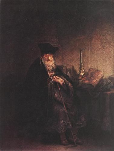 Old Rabbi - Rembrandt