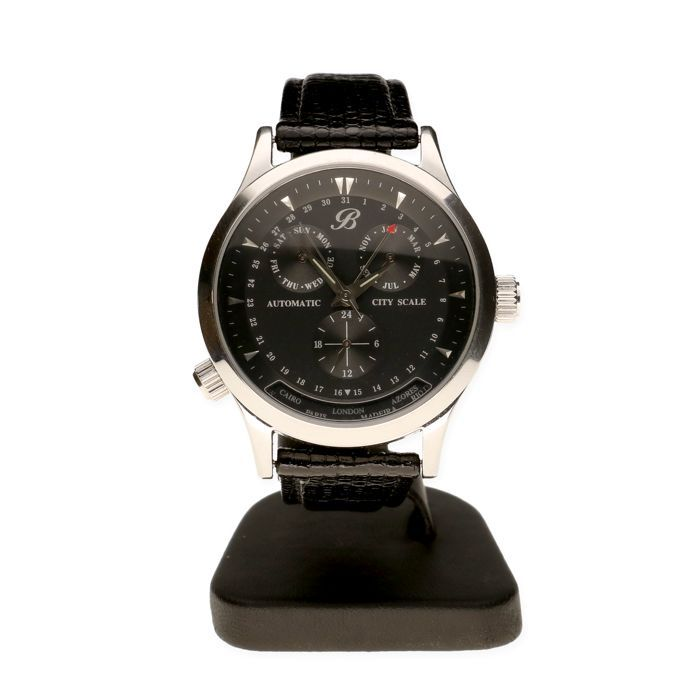 25 beste idee n over lederen band horloge op pinterest mode horloges en watches - Roestvrijstalen kast ...