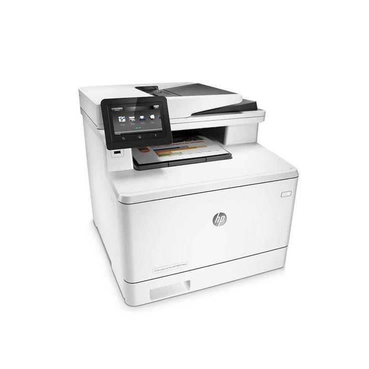 HP LaserJet Pro MFP M477fnw Wireless Laser MultiFunction Printer USB Ethernet CF377A#BGJ