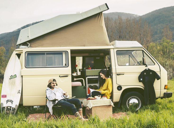 The easiest way to explore Sardina VW T3 Westfalia campervan!