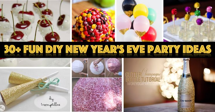 216 best images about new years eve on pinterest for Fun new years eve party ideas