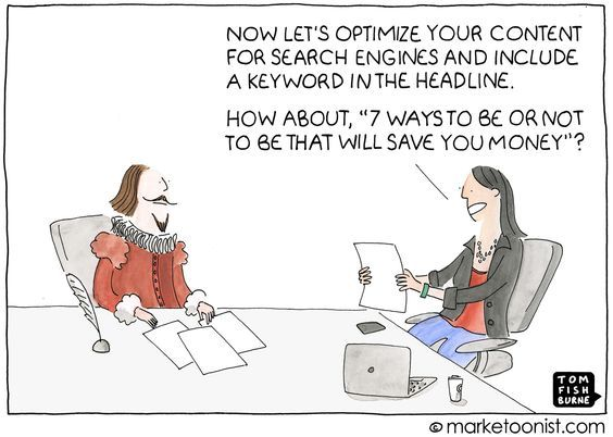 Optimising Content – Writers Write