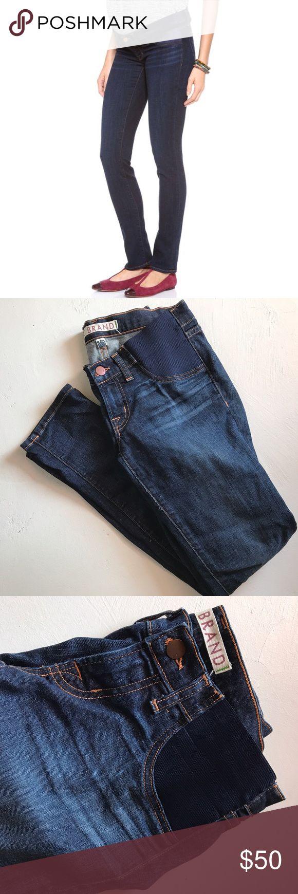 "J brand Mama J Jeans J Brand Mama J straight jeans in dark vintage wash. 29"" inseam. Size 26. J Brand Jeans"