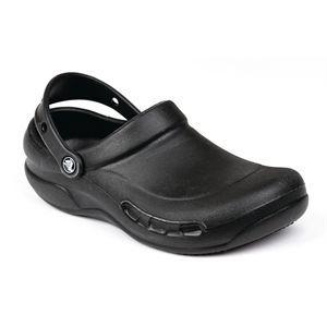 Zuecos ventilados Crocs profesional negros