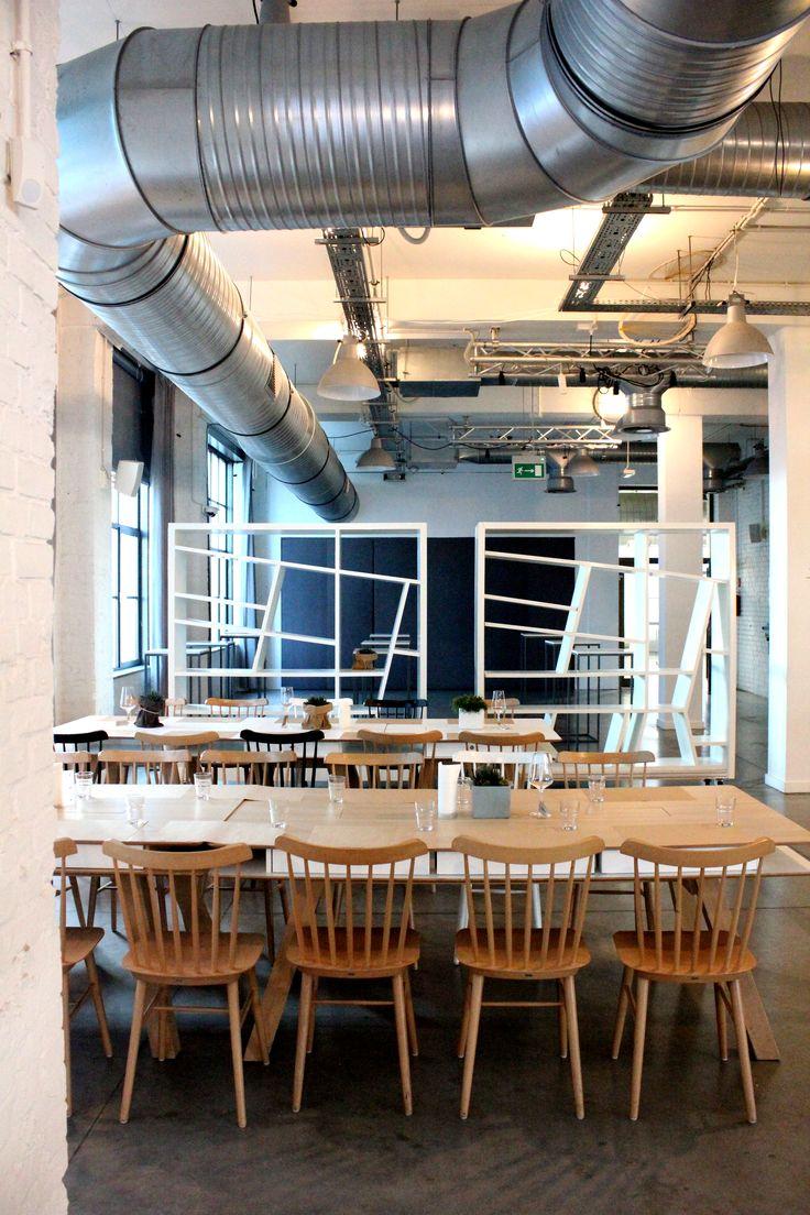 Concordia Taste, restauracja, industrialne wnętrze, design, industrial interior, restaurant