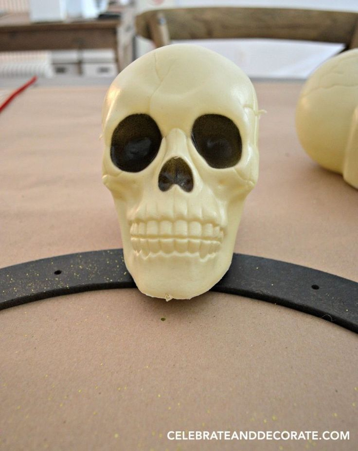 we never tried to do this with those 1 skulls but its surprisingly pretty - Pretty Halloween Decorations