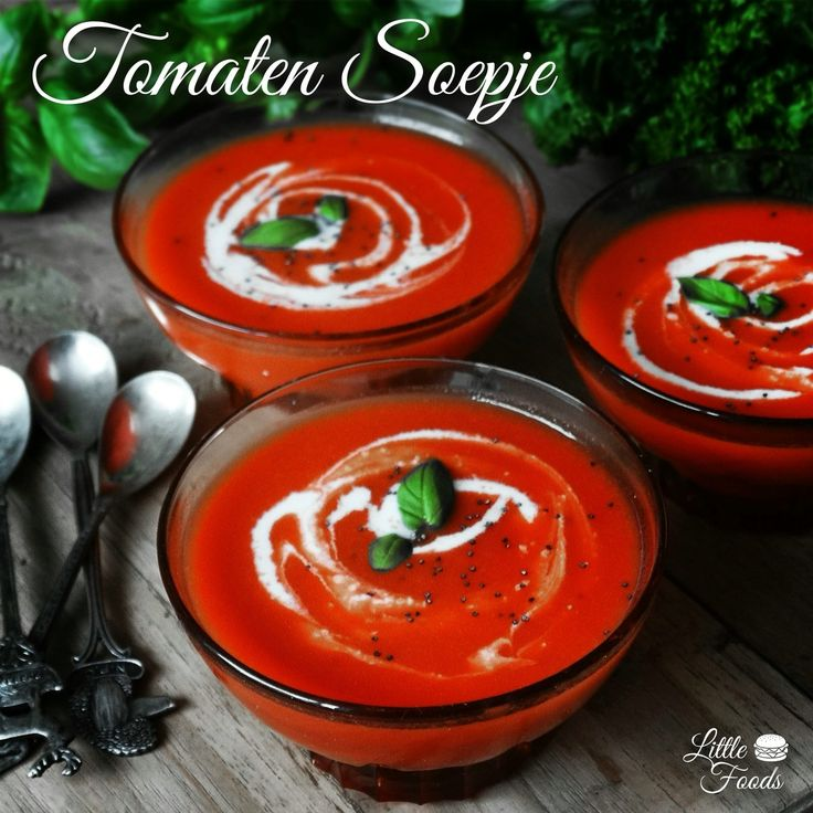 Recipe tomatosoup by Little Foods