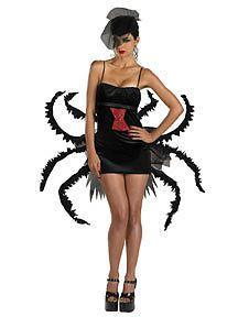 Sexy-Halloween-Spider-Venom-WIDOW-MAKER-Fancy-dress-costume-Size-14-16