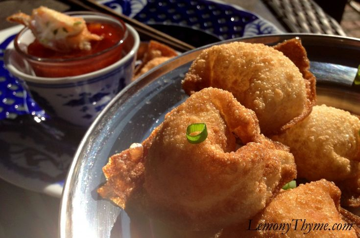 Crab Rangoon {with Sweet and Sour Sauce}