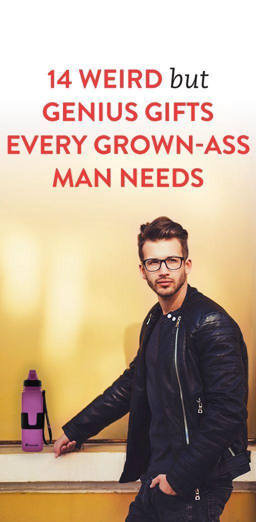 14 Weird But Genius Gifts Every Grown-Ass Man Needs