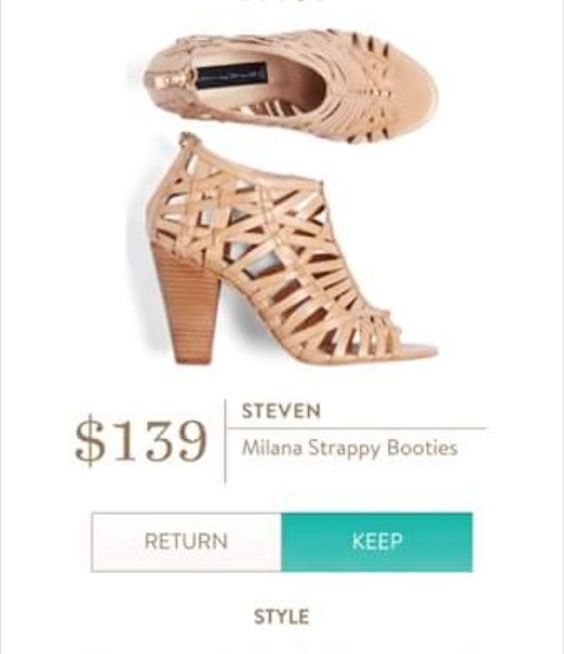 Awesome shoes! STEVEN Milana Strappy Booties from Stitch Fix.  https://www.stitchfix.com/referral/4692813