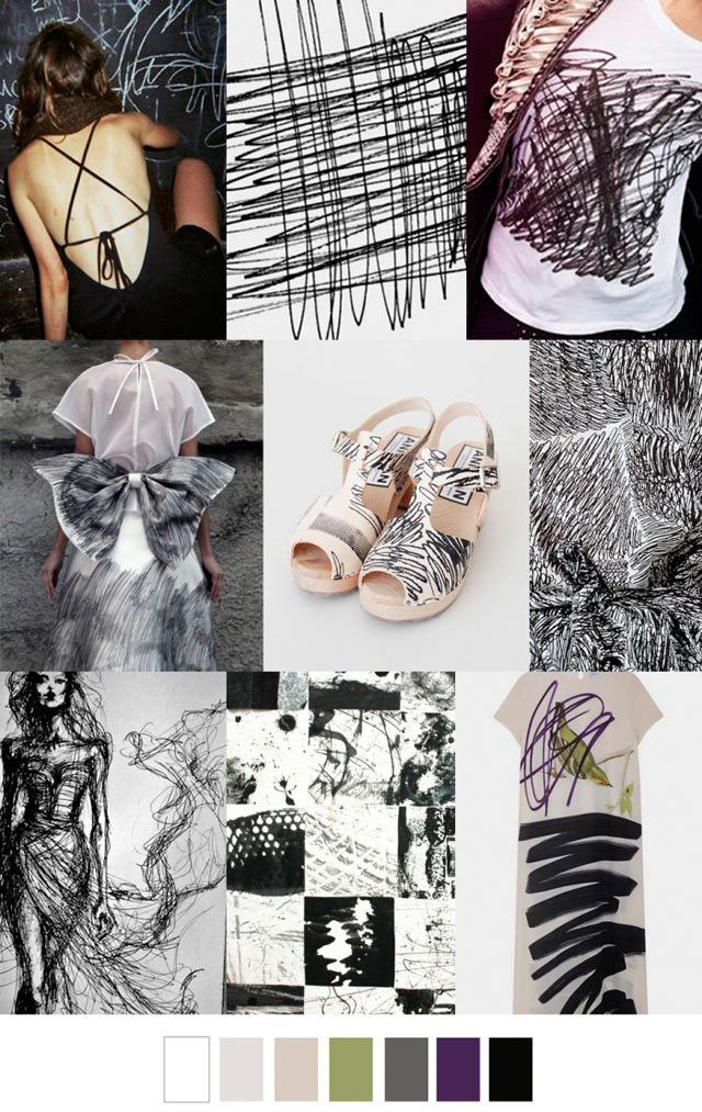 #PatternCurator on #WeConnectFashion, Scratch Pad, #trendboard. More