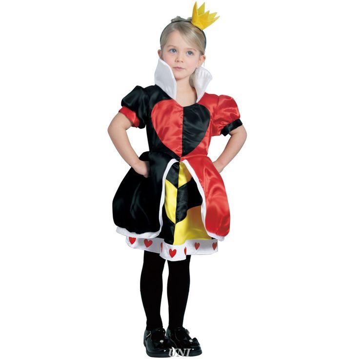 【即納】ルービーズ(rubie's) ハートの女王 子供用 S [802061S Child Queen Of Hearts - S] 【即納】ルービーズ(rubie's) ハートの女王 子供用 S [802061S Child Queen Of Hearts - S]♪ハートの女王 ディズニーヴィランズ 悪役 子供用 キッズ 女の子 #ペア(アリス&ハートの女王) #不思議の国のアリス #ディズニーヴィランズ #親子コーデ(ディズニー) ハロウィン ディズニー 仮装衣装 コスプレ コスチューム
