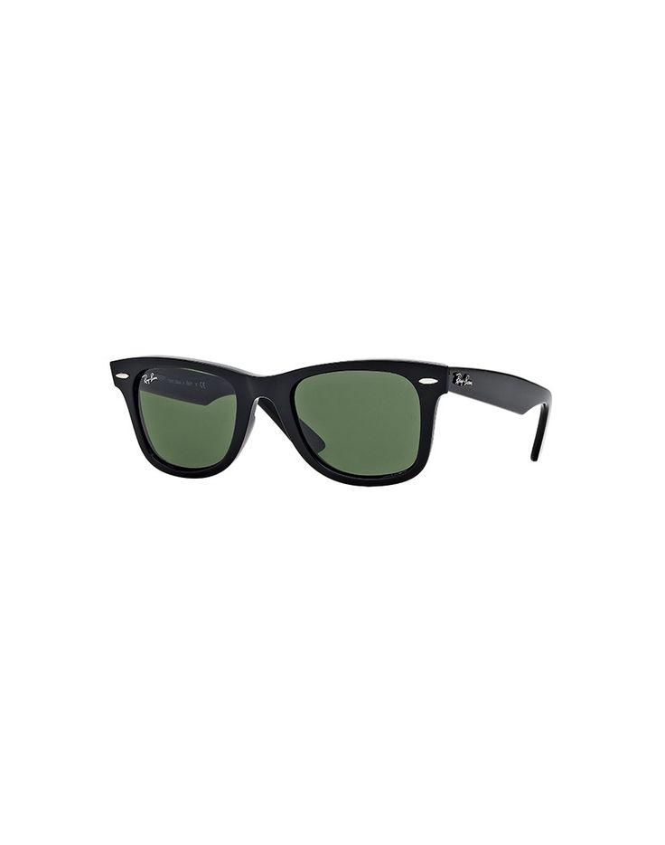 Ray-Ban Wayfarer Sunglasses Black | Shop men's sunglasses at The Idle Man