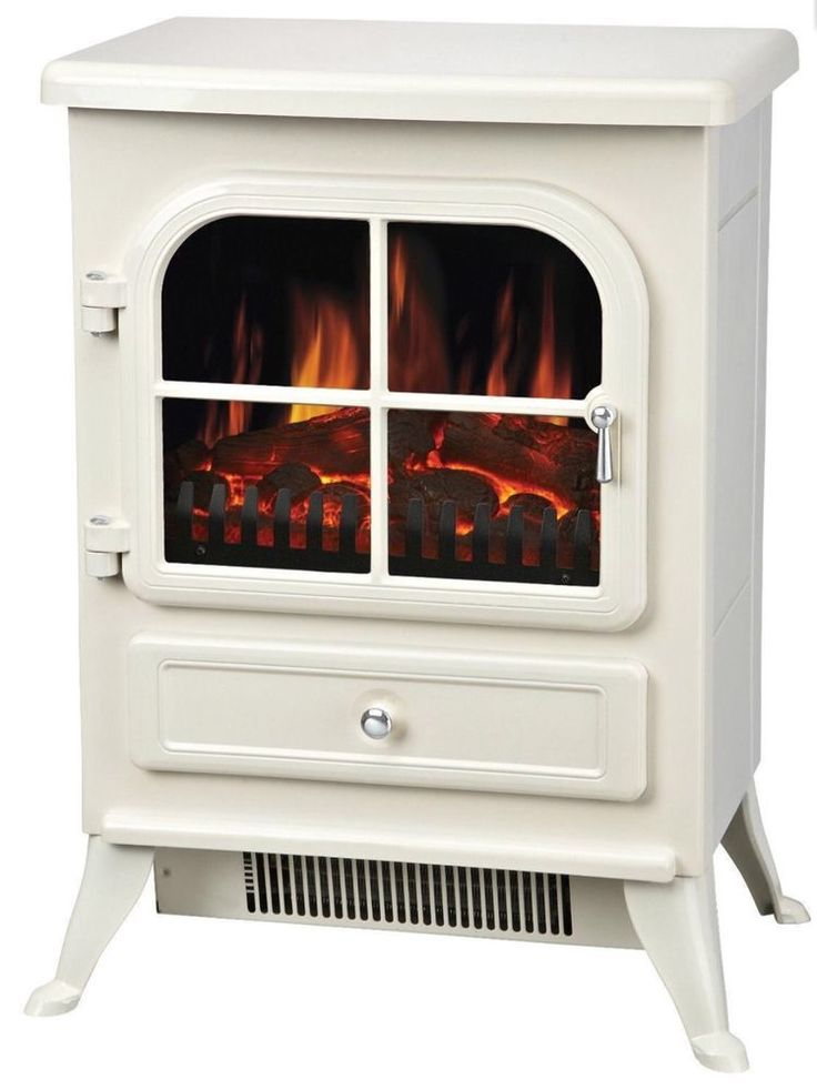 Freestanding electric stove is a great substitute for solid fuel fires. Instant heat, no mess and a realistic flame effect combine to make this stove perfect for people searching for the look of a solid fuel fire, without the hassle.   eBay!