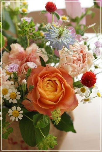 【母の日】ナチュラルがいっぱい♪(その4)|Flower note の 花日記 (横浜・上大岡 アレンジメント教室)