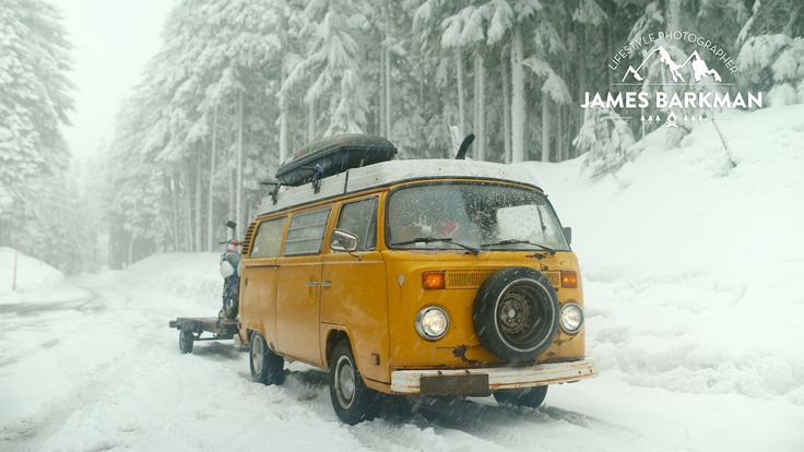 After cruising out to the West Coast from Pennsylvania in his VW Bus for a photography internship, James Barkman has set his sights on living on his own term...