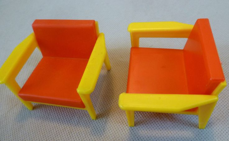Vintage Dolls House - Toy Works/Modella My First Home Sofa 2 Armchairs Sideboard | eBay