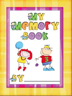 FREE 16-page memory book!  GREAT end-of-year activity!
